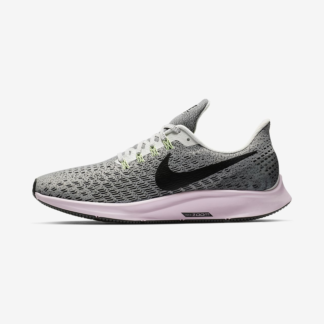 f1a5fc255 Adidasi Alergare Nike Air Zoom Pegasus 35 Dama Gri Roz Verzi Deschis Negrii