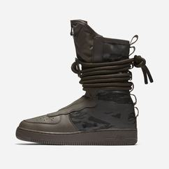 Cizme Nike SF Air Force 1 High Barbati Negrii, 16223-971